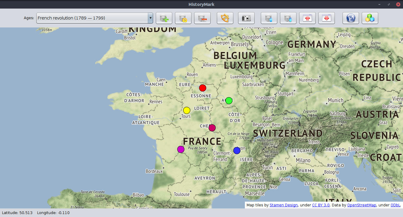 Historymark interactive java app for historical events interactive java app for historical events map gumiabroncs